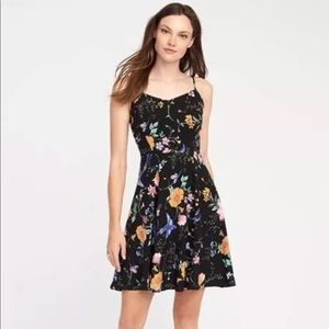 Old navy fit and flare cami dress asset sizes NWT